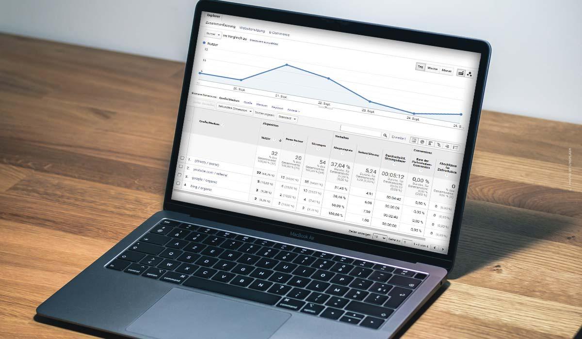 UTMのパラメータです。定義、電子商取引のためのGoogle Analytics、Youtube、Facebook & Co.+例