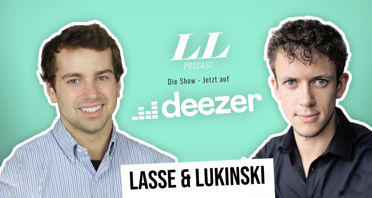 Deezer: Lasse & Lukinski ShowがDeezerにも登場!