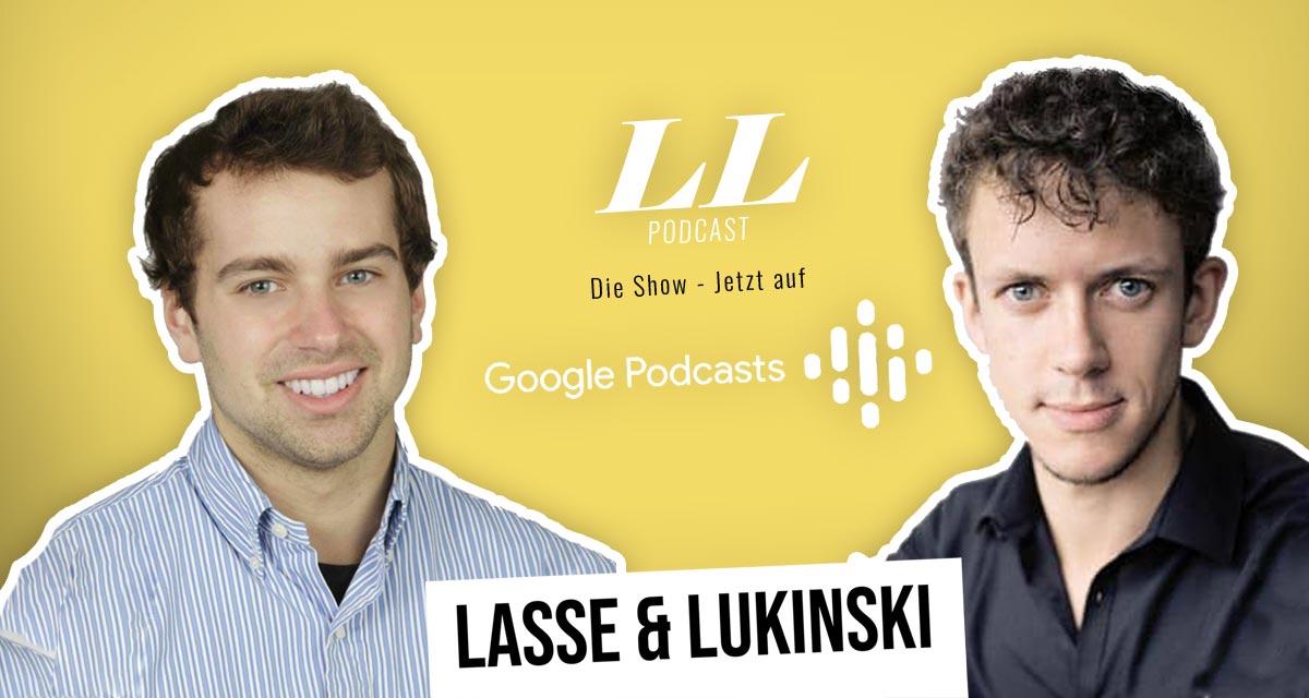 Googleポッドキャスト:Lasse & Lukinski ShowがGoogleにも登場しました。